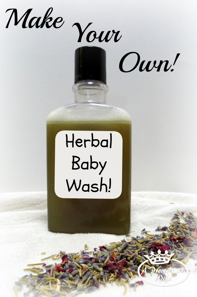 All Natural Baby Shampoo Recipe