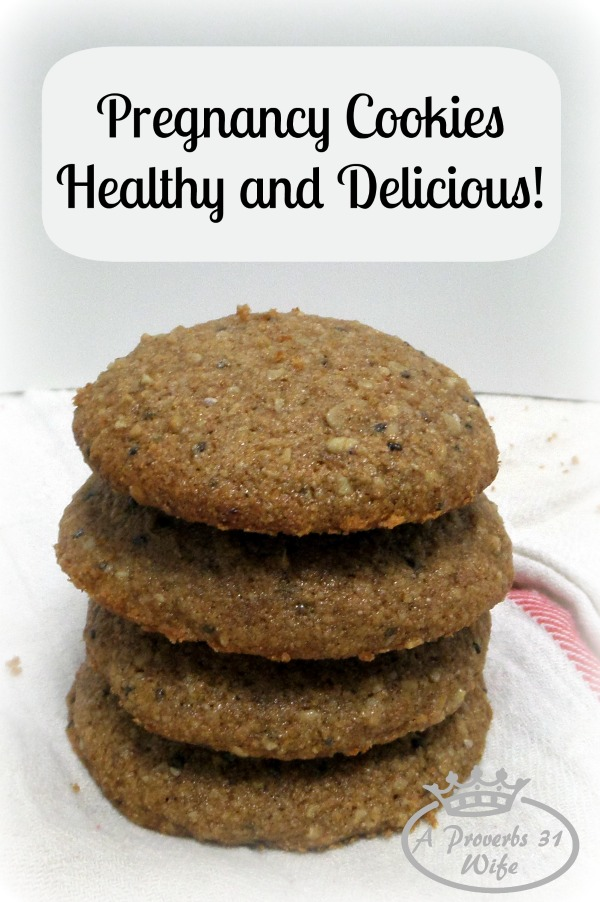 Pregnancy recipe for cookies. Healthy and nutritious.