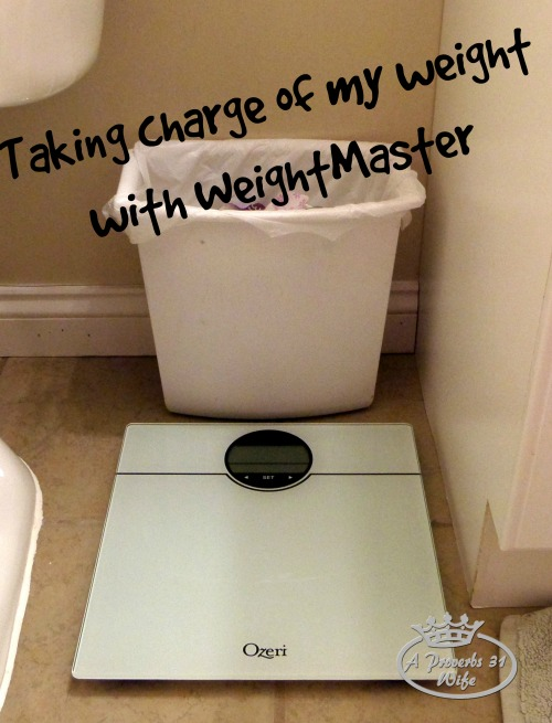WeightMaster by Ozeri ~ I'm Taking Charge of my Weight!