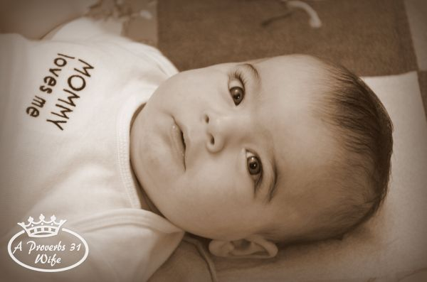 Little k's 3 Month Photo Shoot