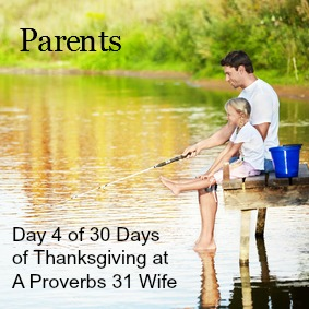 Parents. Day 4 of 30 days