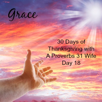 Grace ~30 Days of Thankfulness day 18