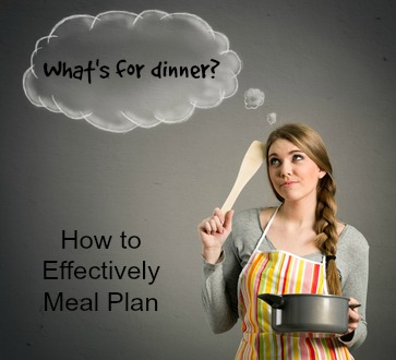 How To Efficiently Meal Plan