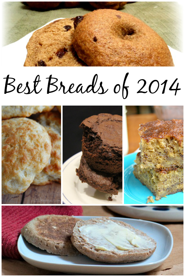 The best bread recipes of 2014. Yeast, sourdough and gluten free recipes to try.