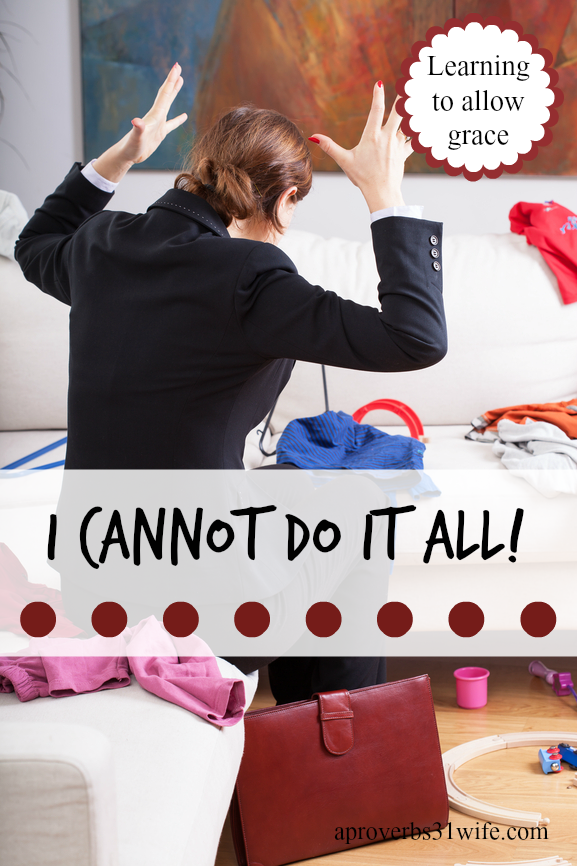I Cannot do it All ~ Type A Confessions +Linkup