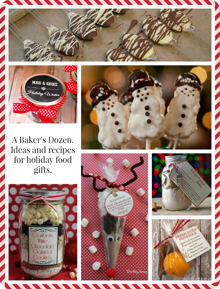 Last Minute Food Gifts ~ A Baker's Dozen