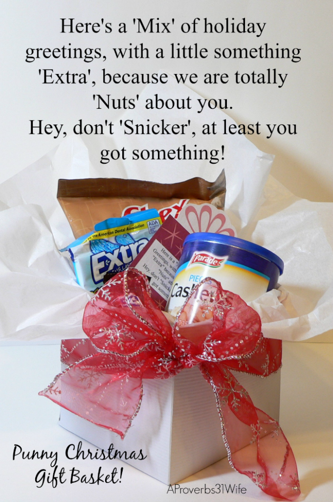 Punny Christmas Gifts for Friends and Neighbors