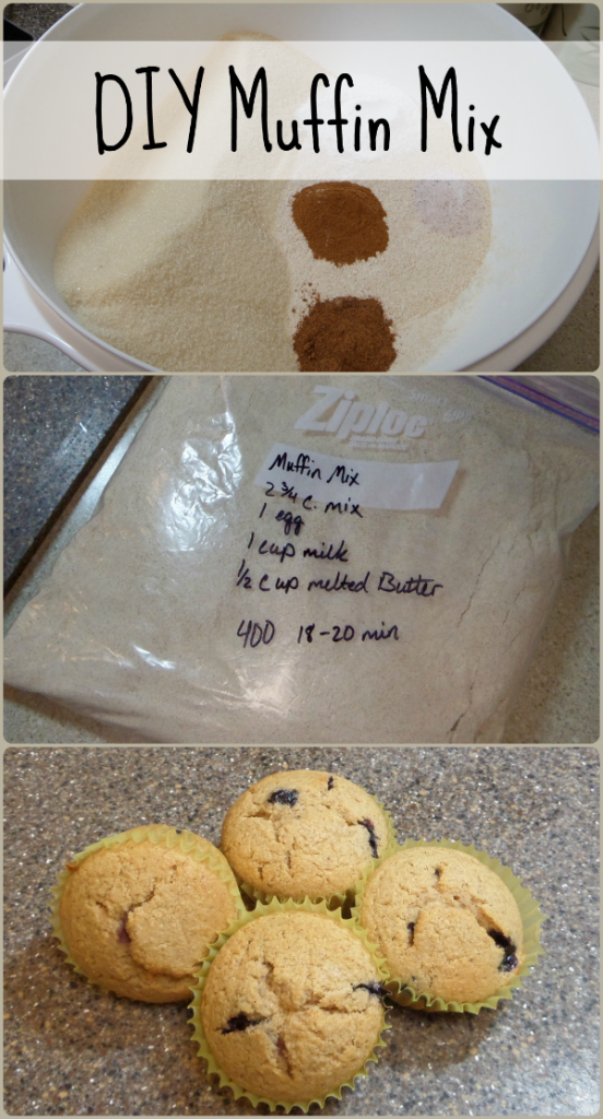 Muffins from scratch get a makeover! Use my whole wheat muffin mix recipe to make a dry mix that can be used to make muffins in a hurry!