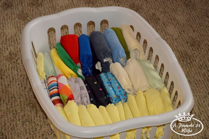 Removing Yeast from Cloth Diapers and my Disposable Choice