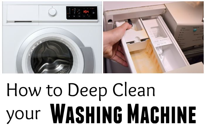 How To Get Rid Of Washer Stink Front Loader Mold