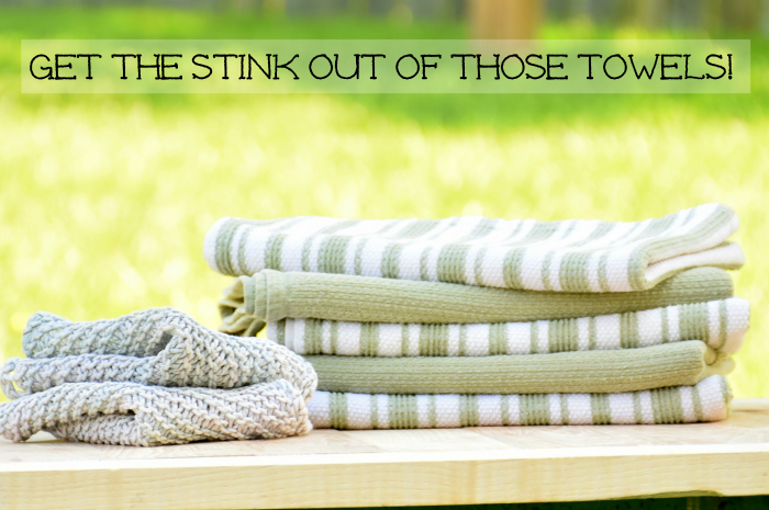 How to Remove the Stink from Kitchen Towels