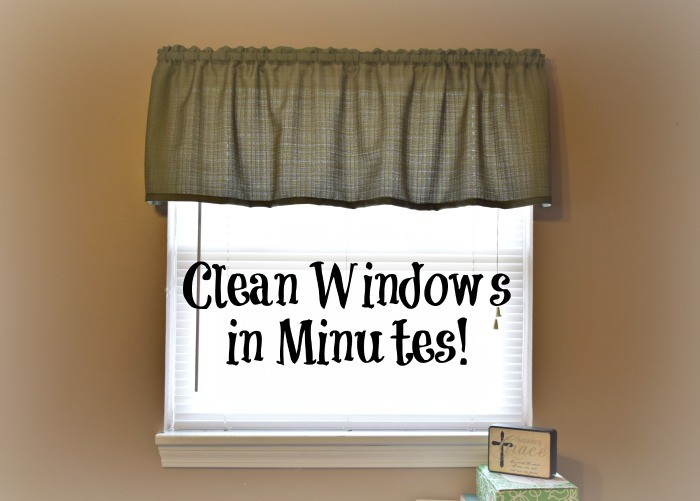 Clean Blinds and Windows in Just Minutes!