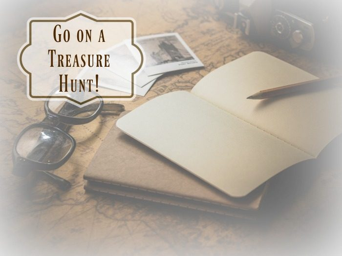 Go on a Treasure Hunt +linkup