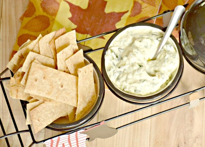 Delicious hot spinach artichoke dip appetizer recipe serves a dozen!