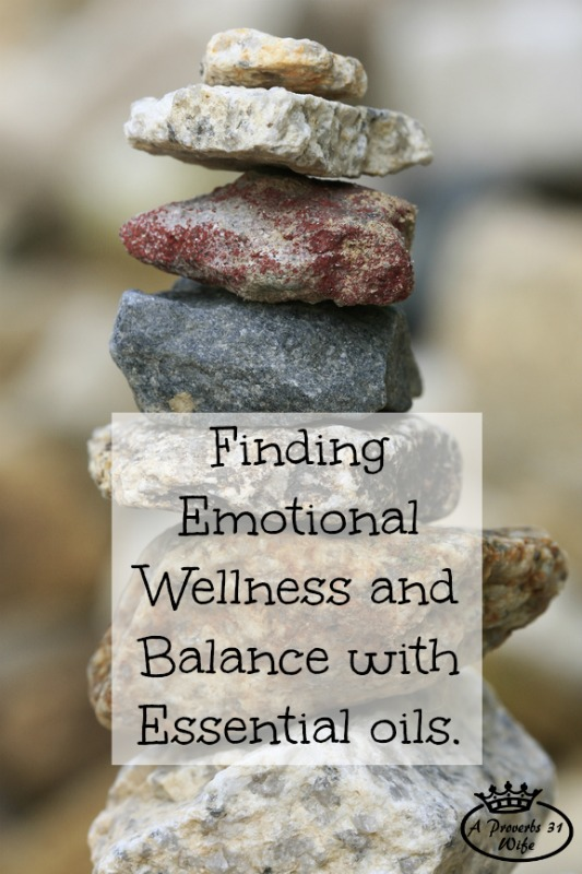 Finding emotional balance with essential oils