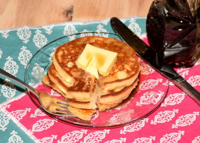 Gluten free pancakes are delicious and easy to make with this recipe.