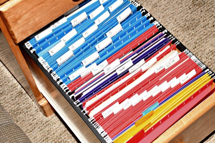 Creating a simple filing system is easier than you may think. Here's how to easily organize your home office